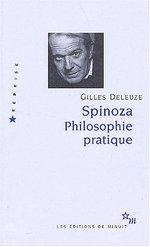 Couverture de Spinoza Philosophie Pratique