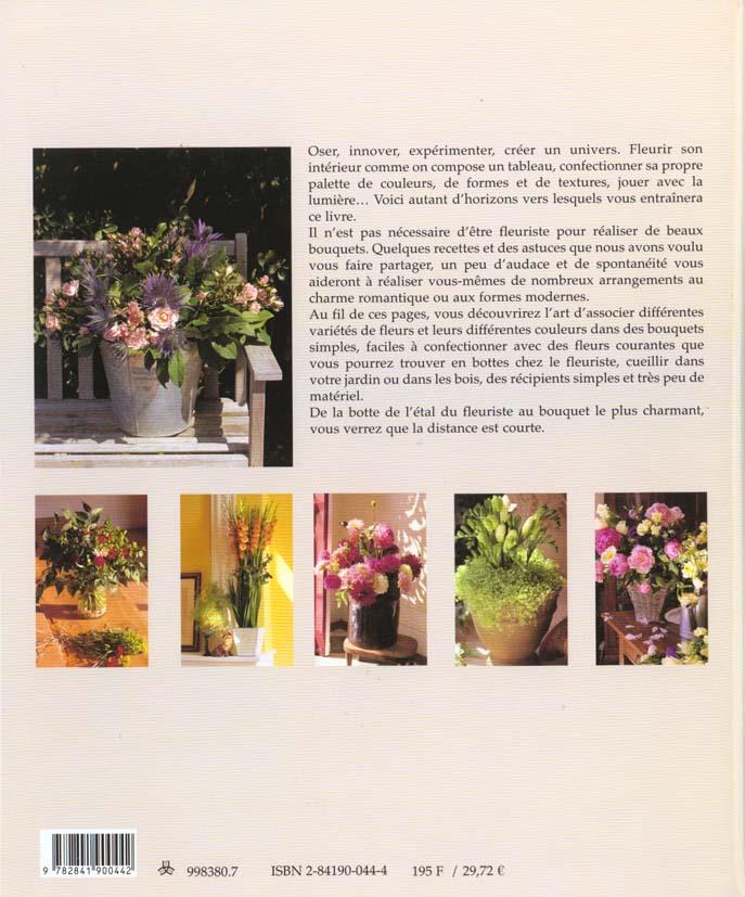 Des bouquets maison