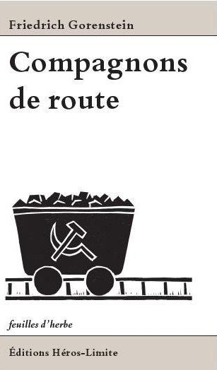COMPAGNON DE ROUTE GORENSTEIN,  FRIEDRIC