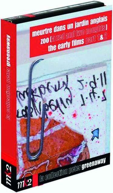 Peter Greenaway - Meurtre dans un jardin anglais, Z.O.O., The Early Films part 1 & 2