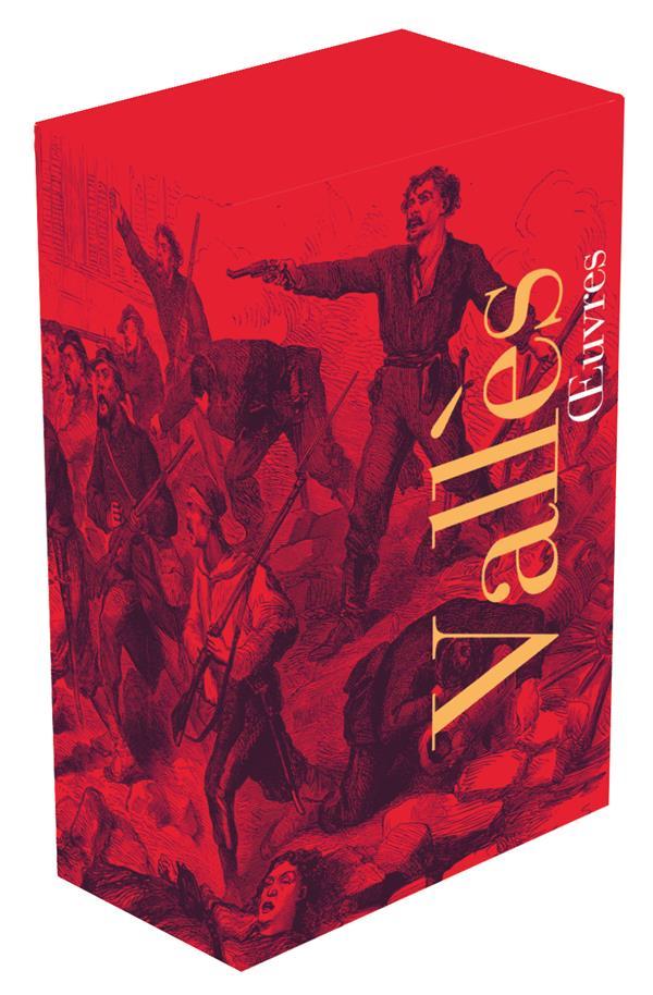 Coffret Pleiade Jules Vallès 2 volumes