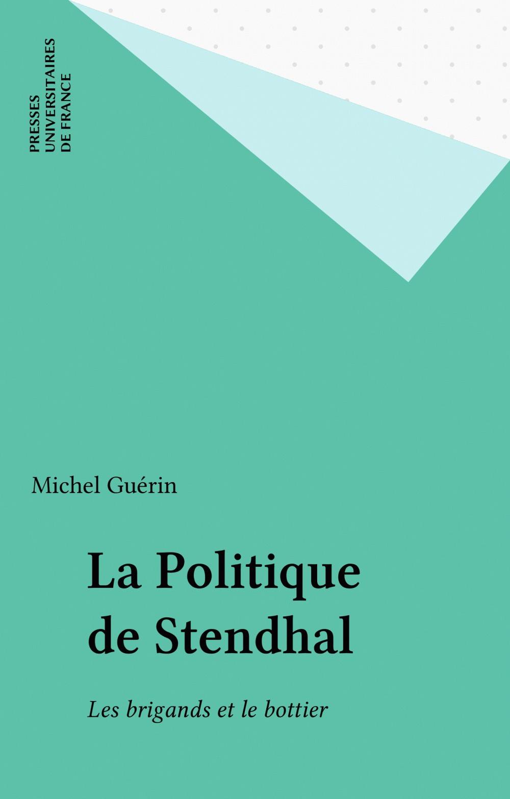 La politique de stendhal