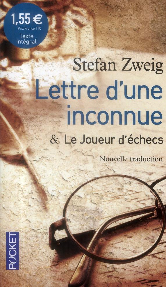 Lettre D'Une Inconnue ; Le Joueur D'Echecs