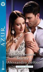Vente EBooks : Mariée à Alessandro Zetticci  - Natalie Anderson
