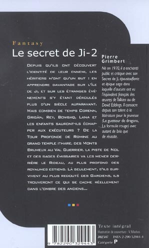 Le secret de Ji ; INTEGRALE VOL.2 ; T.3 ET T.4