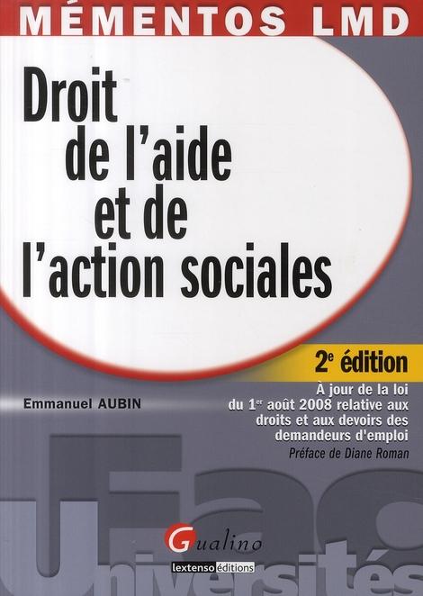 droit de l'aide et de l'action sociales (2ème édition)