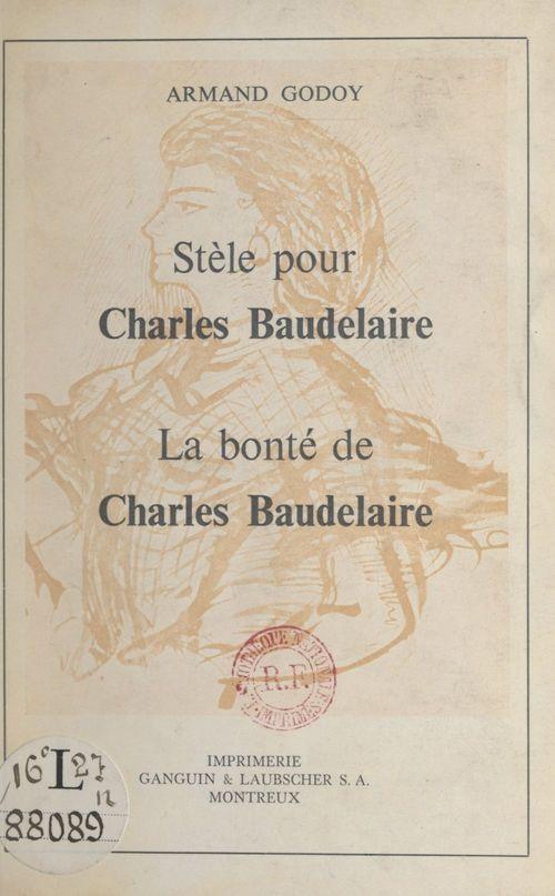 Stèle pour Charles Baudelaire