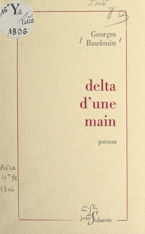 Delta d'une main