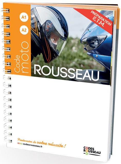 Code Rousseau ; moto (édition 2021)