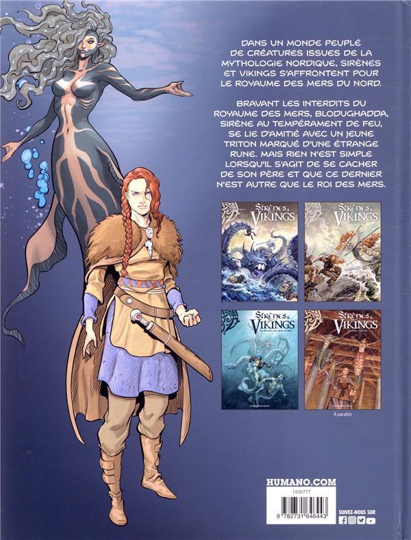 Sirènes et vikings T.3 ; la sorcière des mers du Sud