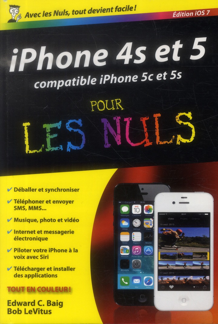 Iphone 5 et 5S pour les nuls