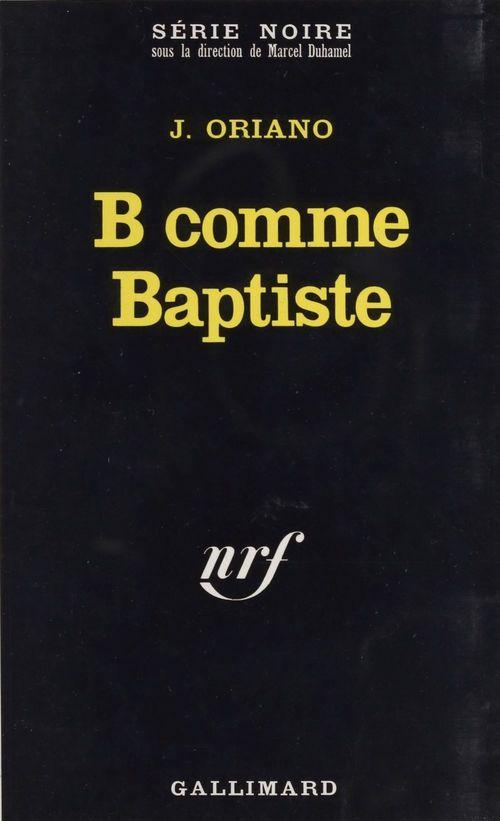 B comme Baptiste