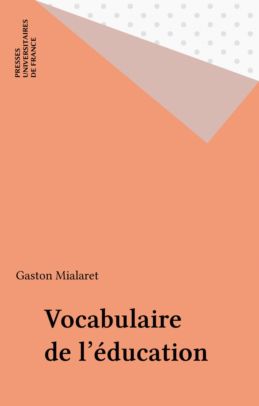 Vocabulaire de l'education
