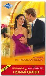 Vente EBooks : Un week-end de mariage - Le bonheur d'une famille  - Jackie Braun - Colleen Faulkner