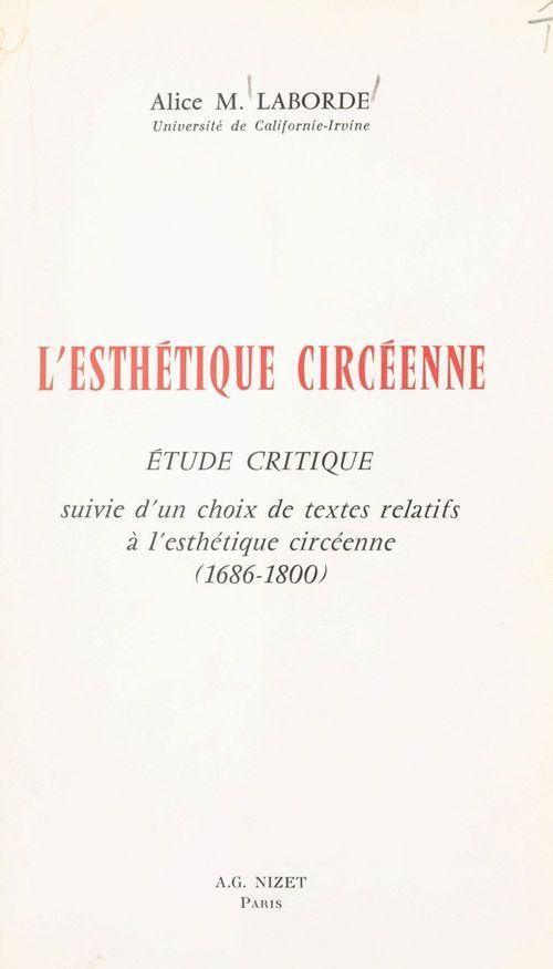 L'esthétique circéenne