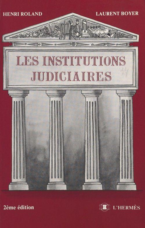 Institutions judicieres