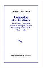 Vente EBooks : Comédie et actes divers  - Samuel BECKETT