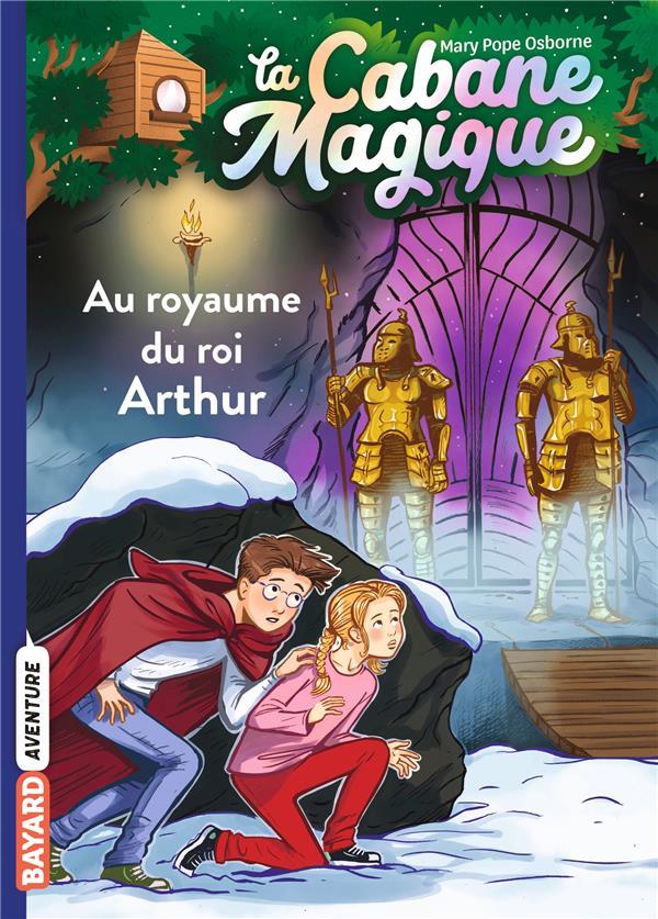 la cabane magique t.24 ; au royaume du roi Arthur