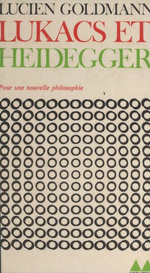 Lukács et Heidegger