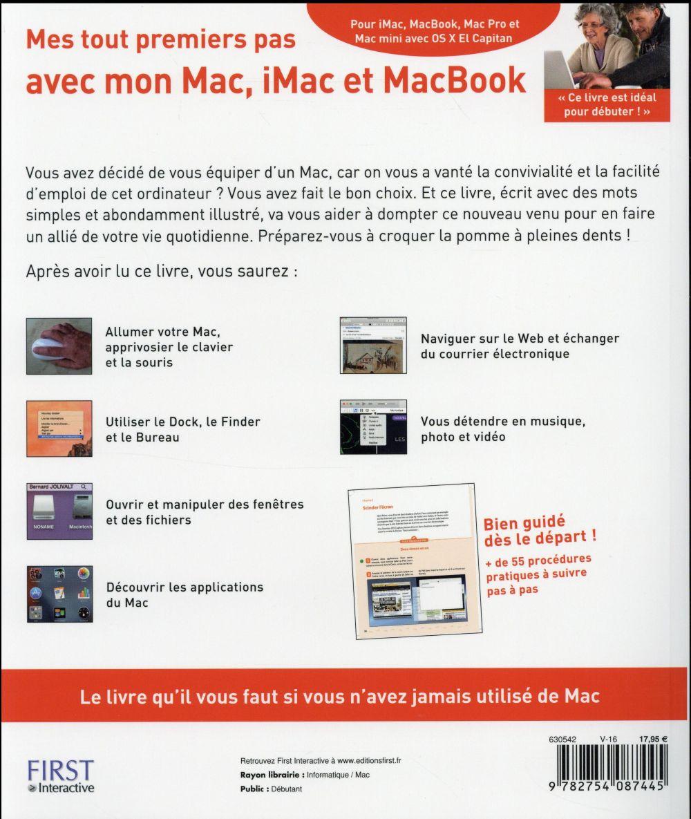 Mes tout premiers pas avec mon mac, imac & macbook (2e édition)