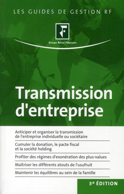 Transmission d'entreprise (3e édition)