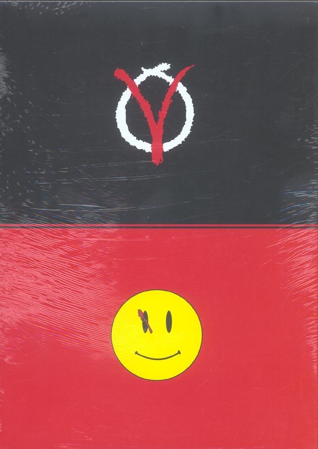 Watchmen ; V pour vendetta ; coffret