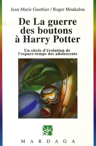 De la guerre des boutons à Harry Potter ; un siècle d'évolution de l'espace-temps des adolescents