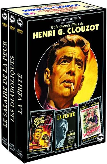 Coffret Henri Georges Clouzot : les diaboliques ; le salaire de la peur ; la verité