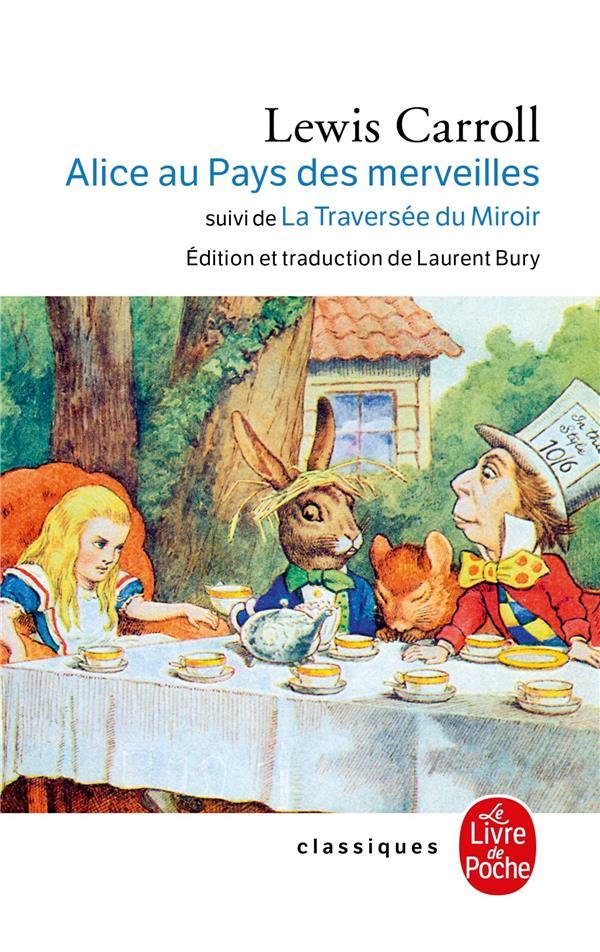 Alice au pays des merveilles ; la traversée du miroir