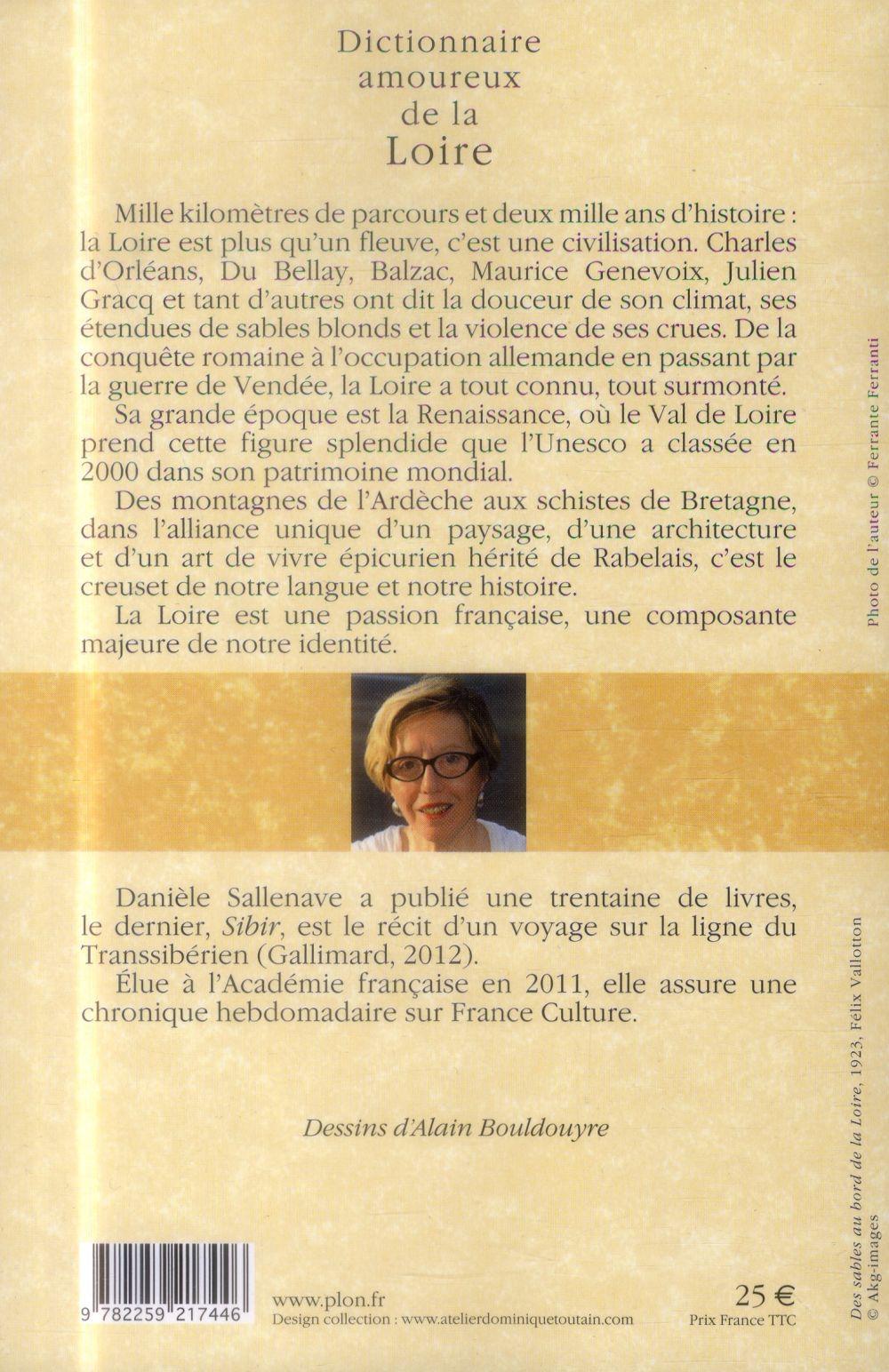 Dictionnaire amoureux ; de la Loire