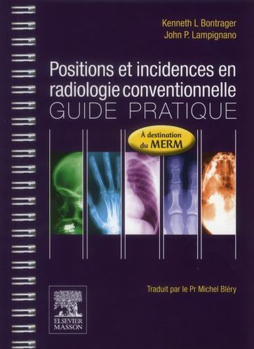 Positions et incidence en radiologie conventionnelle