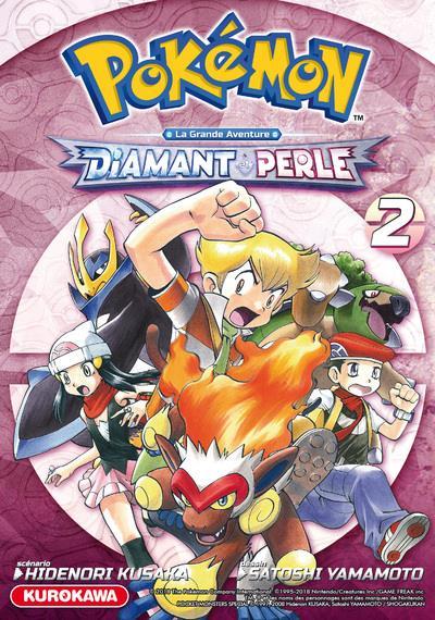 Pokémon ; la grande aventure - Diamant Perle Platine T.2