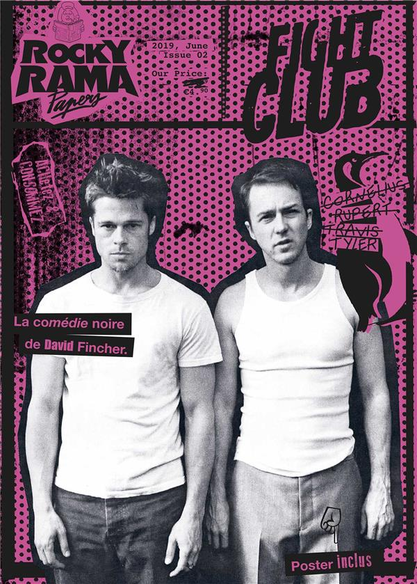 Rockyrama ; poster book 2 ; Fight Club