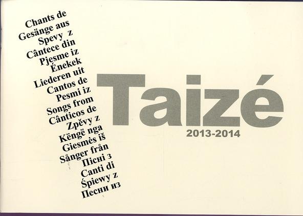 Chants de Taizé 2013-2014
