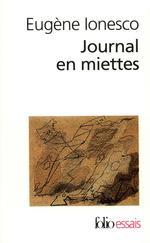 Couverture de Journal en miettes