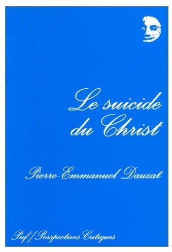 Le suicide du Christ