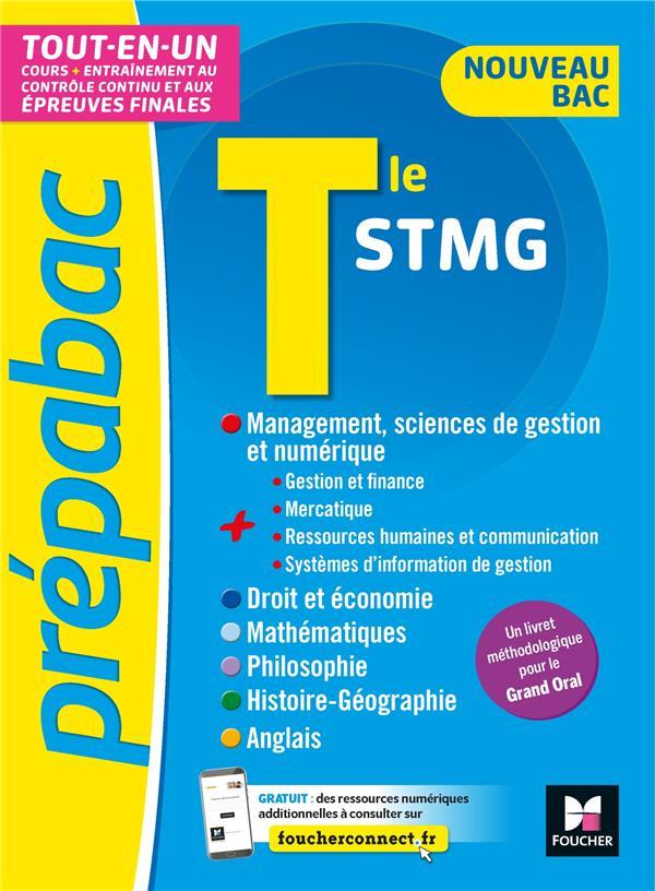 Prépabac ; terminale STMG ; tout-en-un