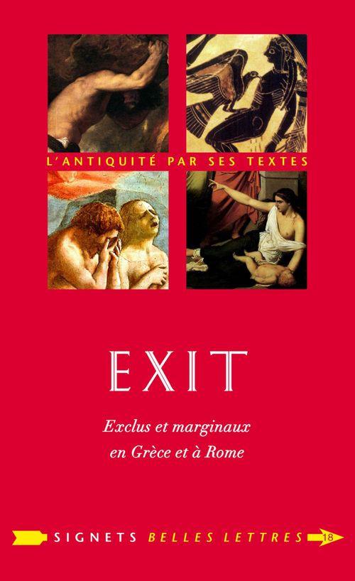 Exit ; exclus et marginaux en Grèce et à Rome