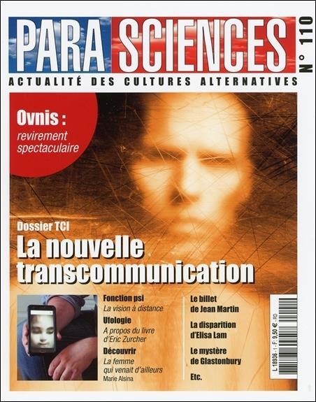 Revue parasciences n.110 ; la nouvelle transcommunication