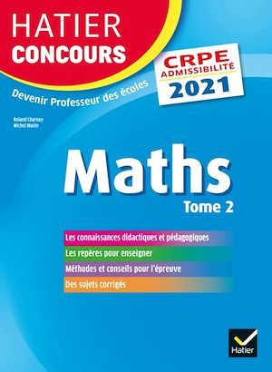 Mathématiques t.2 ; CRPE