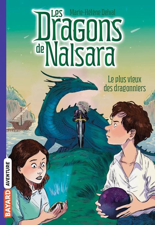 Vente Livre Numérique : Les dragons de Nalsara T.2 ; le plus vieux des dragonniers  - Alban Marilleau  - Marie-Hélène Delval