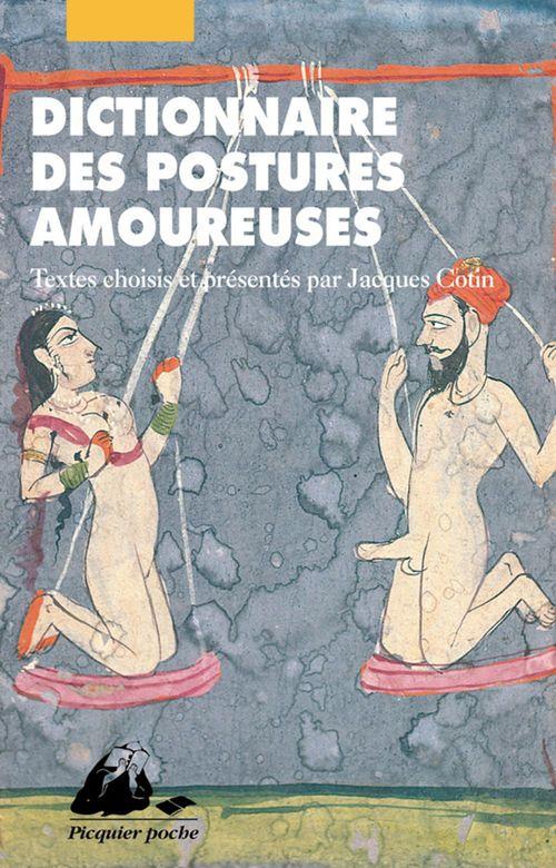 Dictionnaire des postures amoureuses