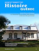 Histoire Québec. Vol. 26 No. 3,  2021