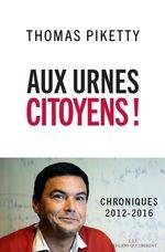Vente EBooks : Aux urnes citoyens !  - Thomas Piketty