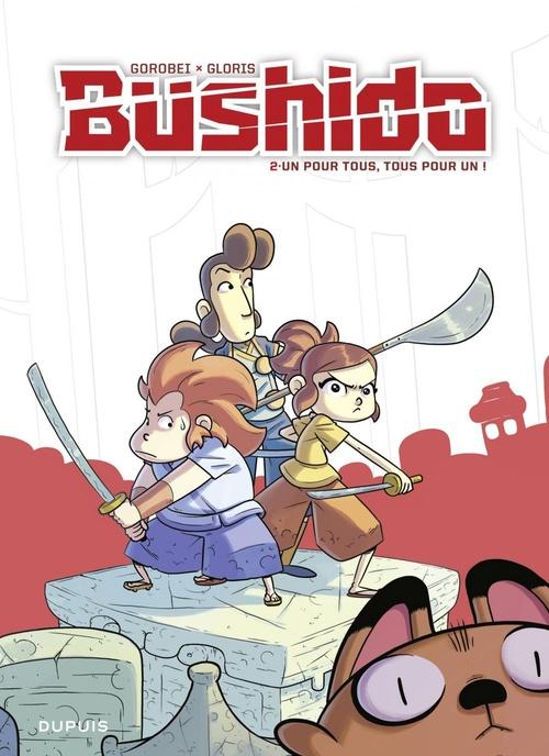 Bushido T.2 ; un pour tous, tous pour un !