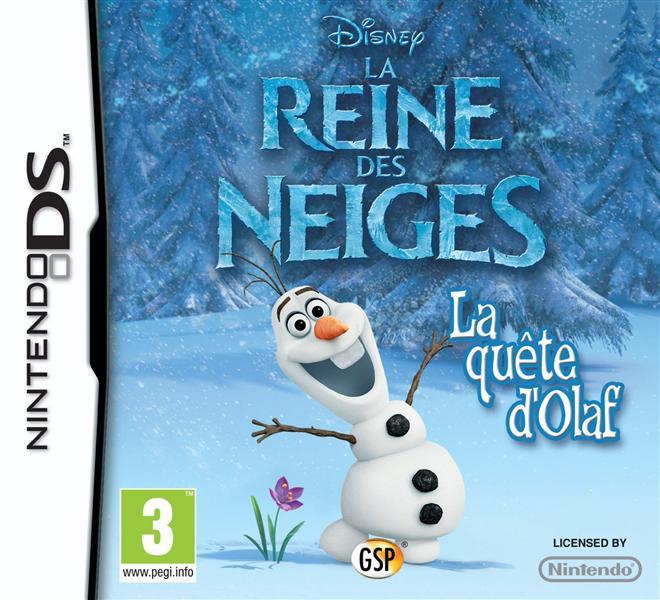la reine des neiges: la quête d'Olaf