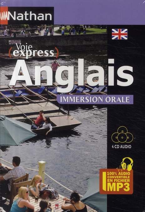 Pack 3 Cd ; Anglais ; Immersion Orale (Edition 2009)