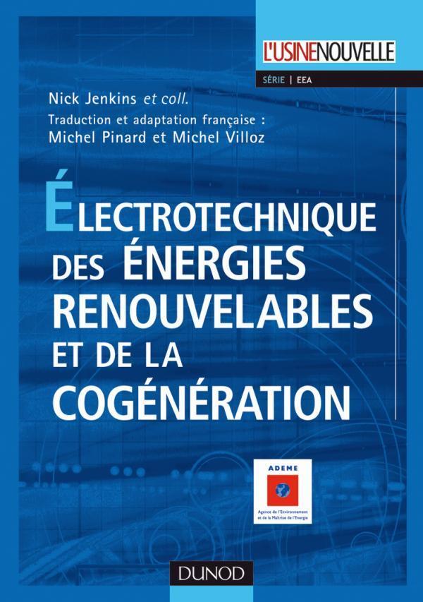 Electrotechnique Des Energies Renouvelables Et De La Cogeneration