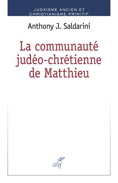 La communaute judéo-chrétienne de Matthieu