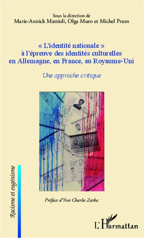 L'identité nationale à l'épreuve des indentités culturelles en Allemagne, en France, au Royaume-Uni ; une approche critique